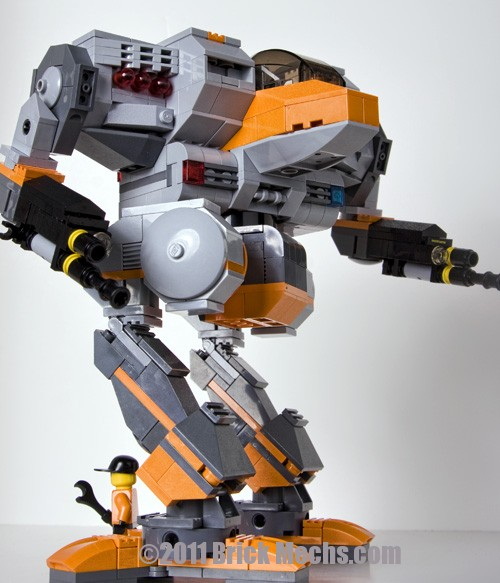 Cougar Mech Lego model-MW4-13