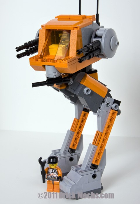 Flea Mech Lego model-13