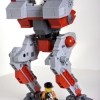Flea mech lego model from mechwarrior4 2