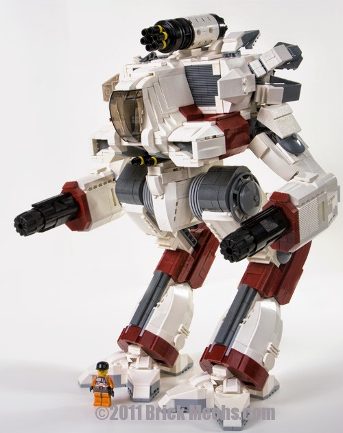 marauder IIC mech lego model from age of destruction 12