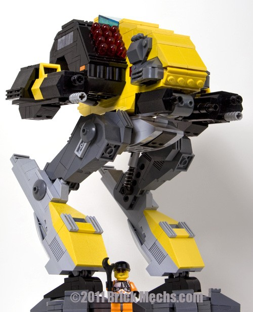 Vulture mech lego model-24