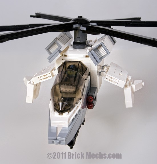 Donar attack helicotper mechwarrior lego model 1
