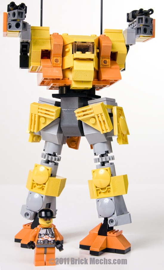 firemoth/dasher mech lego model 3