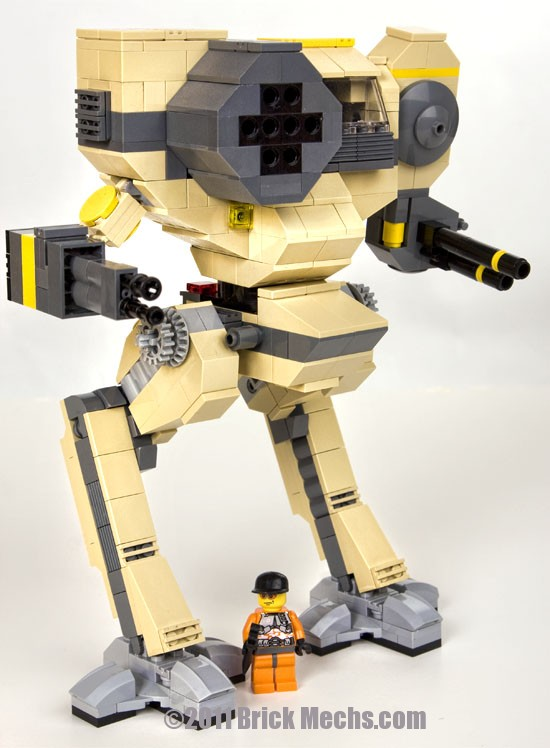 Chimera mech lego model 9