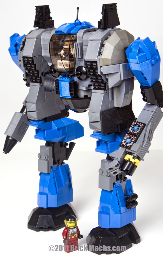 War Dog mech lego model 9