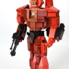 Phoenix Hawk mech Lego model 11