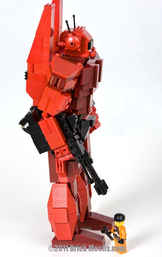 Phoenix Hawk mech Lego model 6