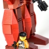 Phoenix Hawk mech Lego model 2