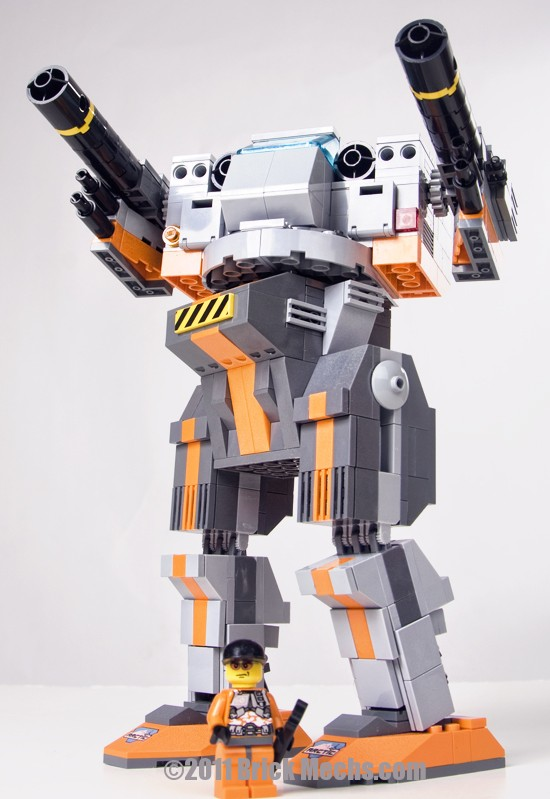 Blackjack mech lego model 15