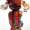 Solitaire mech lego model 2