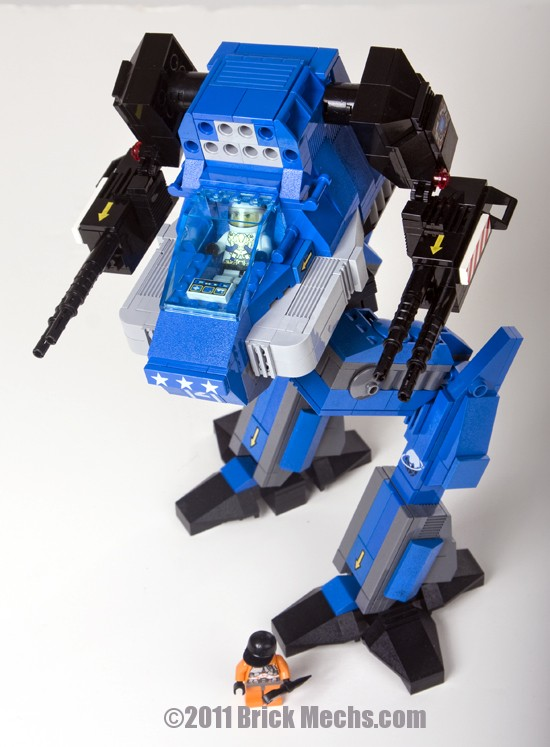 Stormcrow or Ryoken mech lego model 2
