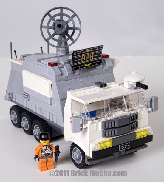 Battletech Mobile HQ vehicle lego model 13