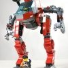Bloodhound mech lego model 18