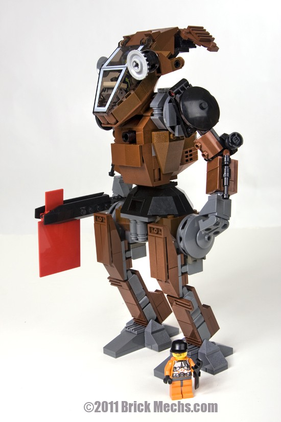 Hatchetman mech Lego model-37